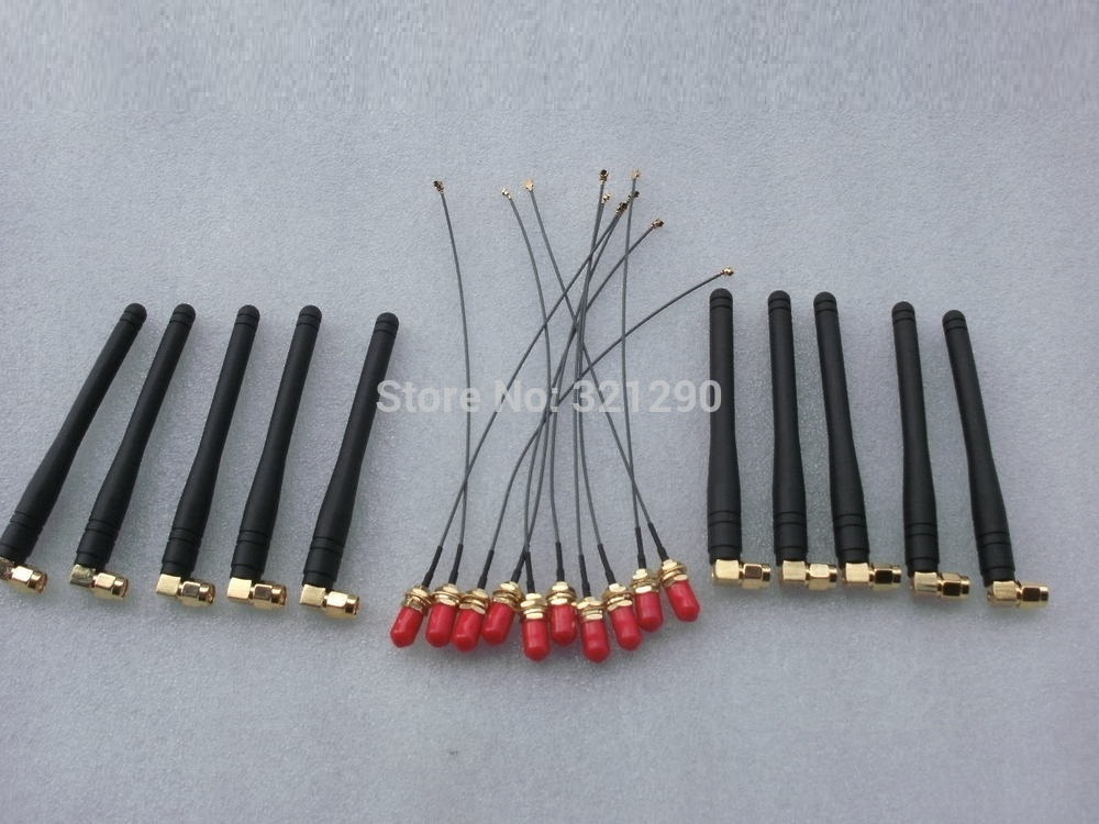 Spare Parts Accessories for SIM300 SIM900A sim900 sim900D sim908 GSM 900 1800HZ antenna SMA to Ufl./Ipx cable-in Communications Antennas from Cellphones & Telecommunications on AliExpress - 11.11_Double 11_Singles' Day 1