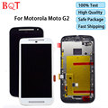 Best Quality For Motorola MOTO G2 XT1063 XT1068 XT1069 LCD Display Touch Screen Digitizer Assembly With Bezel Frame