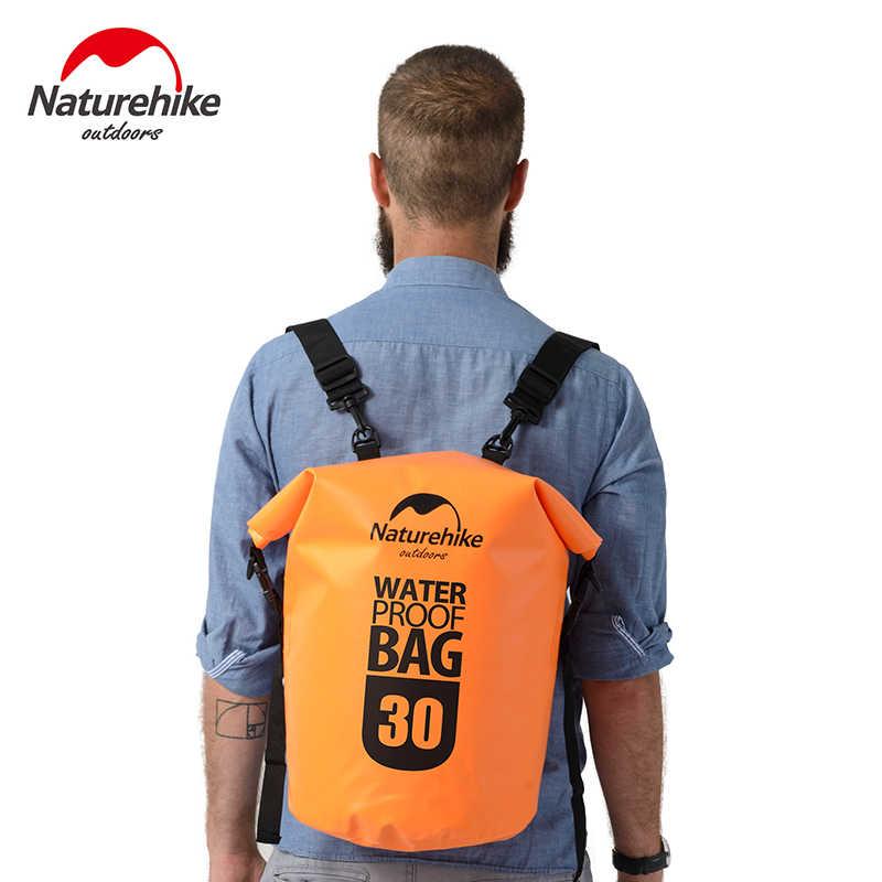 a90e27875f5c NatureHike Outdoor 20L 30L 500D Waterproof Backpack Bag Marine Dry Bags  Hiking Rafting Kayak Accessories