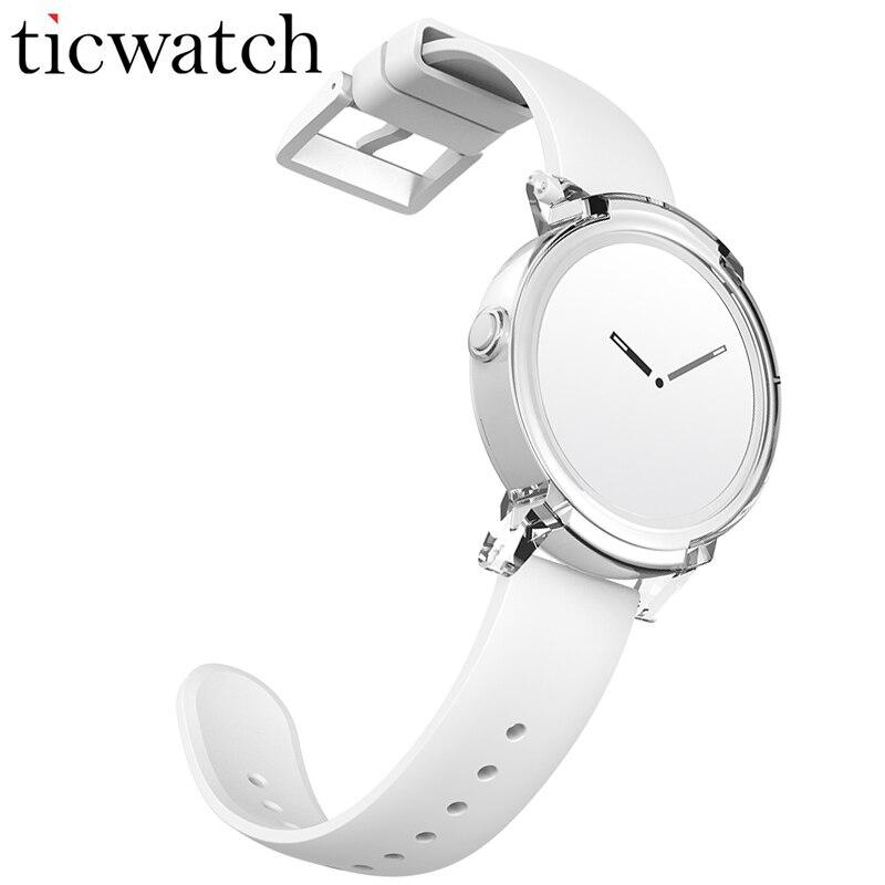 Ticwatch E GPS SmartWatch Android Porter MT2601 Dual Core Bluetooth 4.1 WIFI GPS téléphone montre intelligente Fréquence Cardiaque IP67 résistant à l'eau