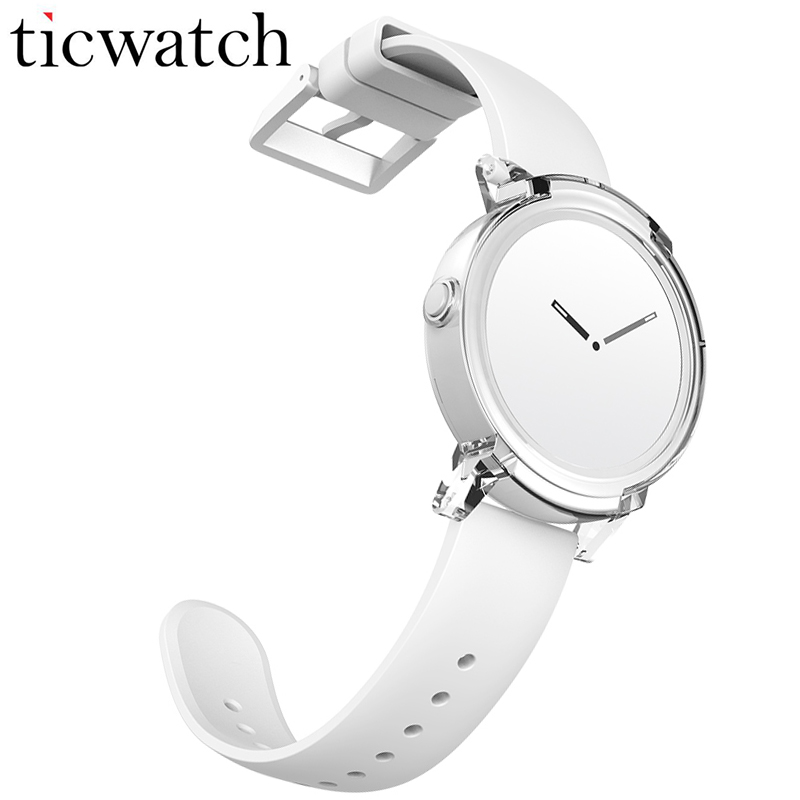 Ticwatch E GPS SmartWatch Android Usura MT2601 Dual Core Bluetooth 4.1 WIFI GPS Del Telefono Smartwatch Frequenza Cardiaca IP67 Resistente All'acqua