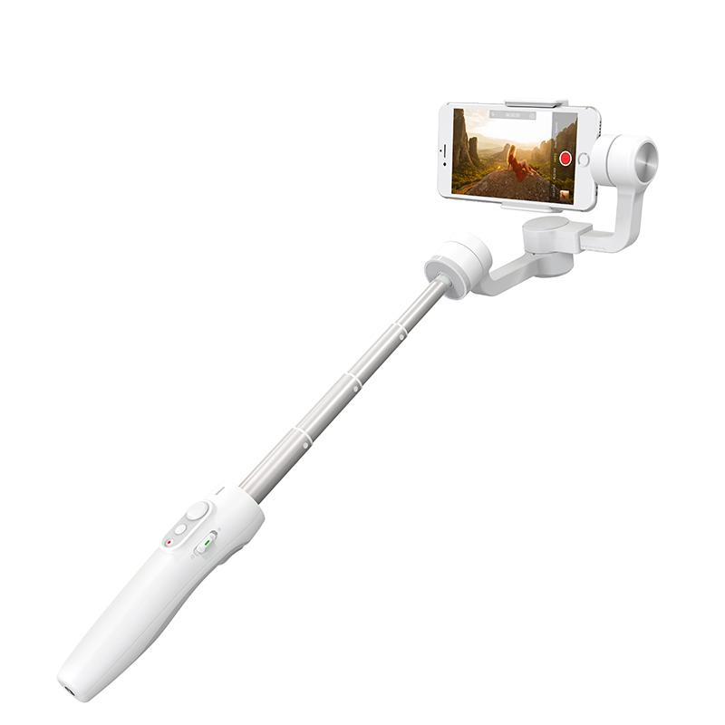 FY Vimble 2 Stabilizer 3 Axis Handheld Gimbal with 183mm Telescoping Pole for iPhone Huawei XIAOMI