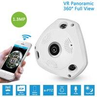 1 3MP IP VR Camera WiFi Network Fisheye 1 44mm 360 Panoramic Wi Fi Cameras 960P