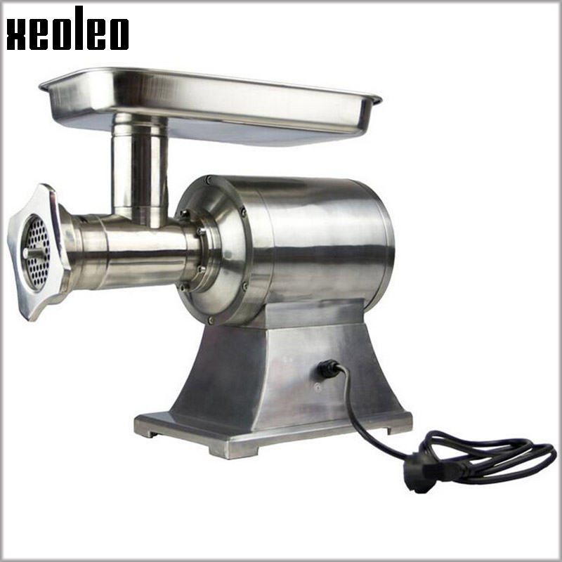 XEOLEO 22# Commercial Meat Grinder 750W Electric Mincer machine 200kg/h Stainless steel Enema machine Desktop Twist machine 15l commercial electric stainless steel enema machine heated dog automatic enema machine