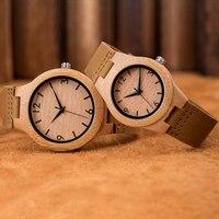 2019 Paar Hout Horloge Mode Quartz Dames Houten Horloge Casua Lover Hout Horloges Vrouwen Mannen Topmerk Luxe Klok Lover b13-in Geliefdes Horloges van Horloges op