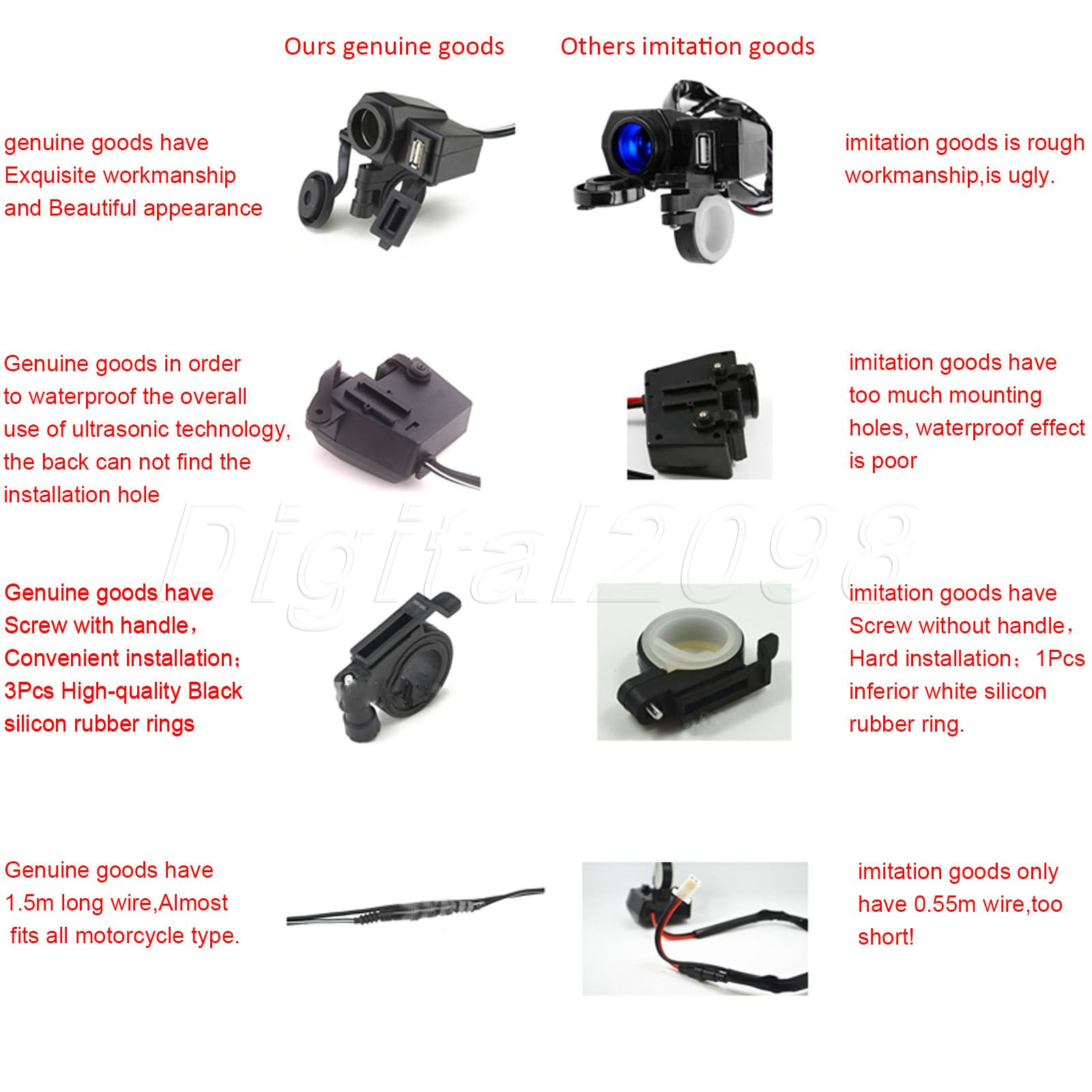 Motorcycle Usb Charger Wiring Diagram Electrical Diagrams Cord House Symbols U2022