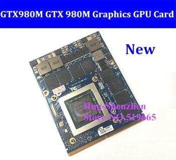 New GTX980M GTX 980M Graphics GPU Card N16E-GX-A1 8GB GDDR5 For Alienware M17X/M18X /Clevo P150EM/MSI 16F2/DEll M6700/HP 8740w