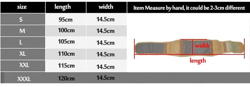 back support belt y011