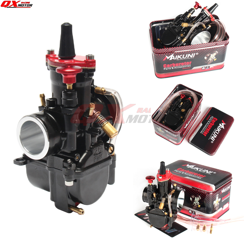 High performance Universal Modification Motorcycle Carburetor 21mm 24mm 26mm 28mm 30mm 32mm <font><b>34mm</b></font> <font><b>PWK</b></font> Power Jet Carburetor Carb image