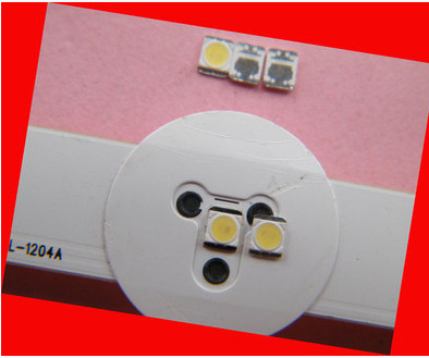 FOR LG 80pcs 2835 LED 1w Backlight 1210 3528 2835 1W 100LM Cool white LCD Backlight for TV TV Application 1W-350Ma