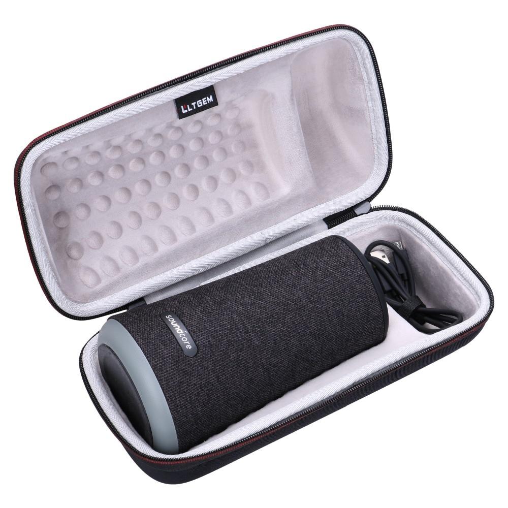 LTGEM EVA Hard Case For Anker Soundcore Flare+ Plus Portable 360 Bluetooth Speaker