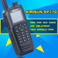 Envío Gratis Matriz de Color Verdadero Pantalla KIRISUN DP-770 Analógico Digital GPS PROTABLE DMR Walkie Talkie UHF 400-470 MHz RADIO DP770