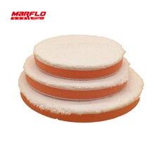 Microfiber Wax Applicator Sponge Polishing Buff Pad Remove Moderate Paint Car Care Marflo Brilliatech