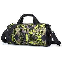 Professional Fitness Shoulder Gym Bag For Shoes Waterproof Portable Training Bag Men Women Travel Handbag Yoga