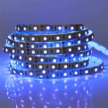 SMD 5050/3528/2835 DC12V 0.5m 1m 2m 3m 4m 5m UV black light Led Strip 60leds/m Ultraviolet Ray Purple Flexible Tape Ribbon lamp(China)