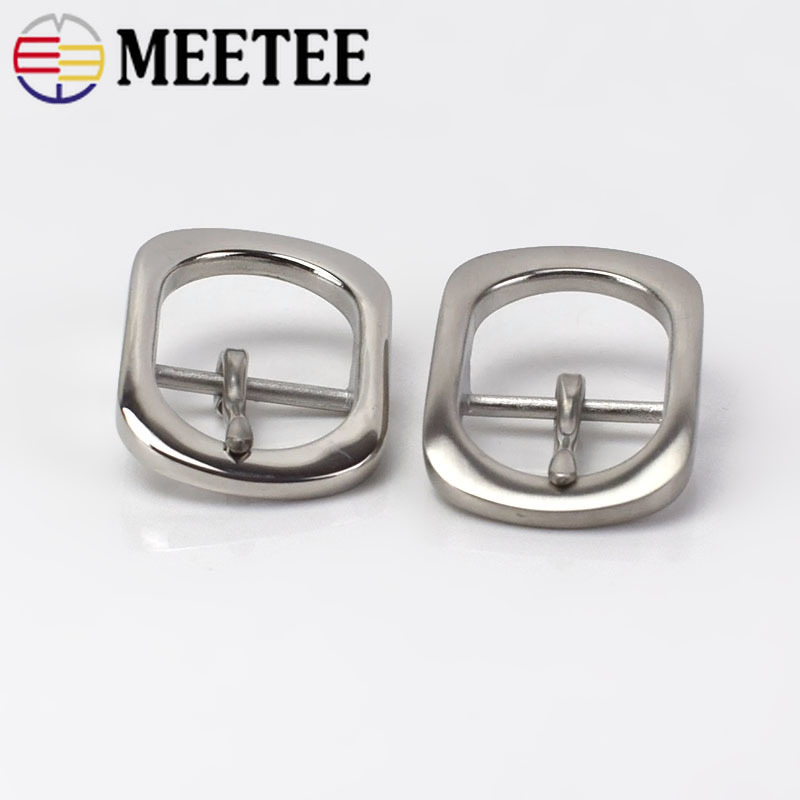 Deepeel 1pcs Stainless Steel Pin Belt Buckle For 28-30mm Men Women DIY Leather Craft Hardware Metal Jeans Belt Accessories BD333