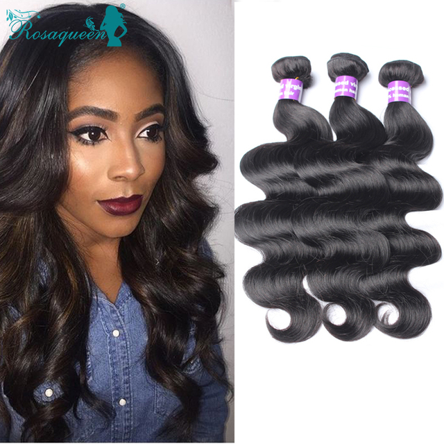 3 Bundles Eurasian Body Wave 100% Unprocessed Eurasian Virgin Hair Body Wave Cheap Human Hair Weave Rosa Queen Hair Bundles
