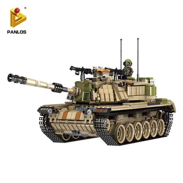 no color box military m60 plastic educatuional assemblage model