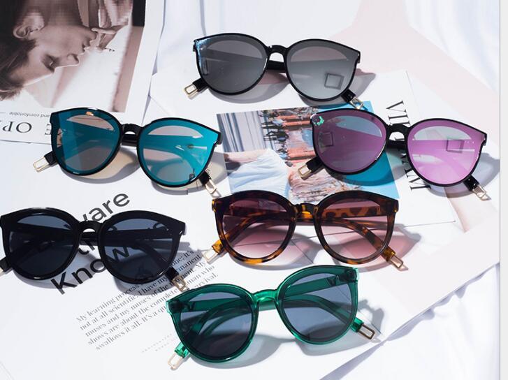 Солнцезащитные очки оптом Европа и Соединенные Штаты тенденции моды солнцезащитные очки Цвет металла фильм очки чтение зеркало FYAF1-FYAF2