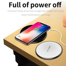 10W Original Qi Wireless Charger for Doogee S60 Charging Pad with Dual USB Charging Adapter for Doogee S60Lite S 60 Lite(China)