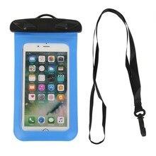 Round Folder Waterproof Bag Mobile Phone Portable Swimming Rafting Water Sports Essential