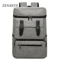 ZENBEFE Camouflage Backpack Large Capacity Travel Rucksach Linen Laptop Backpack Men S Backpacks Leisure School Bag