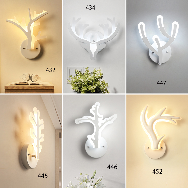 Modern ceative led Wall Lamp for living room bedroom Sconce light bedside Corridor lighting led wall lights lustre Home Dero 16w big u shape led wall lamp bedside lamp modern living room corridor hallway stairs lights pathway sconce lighting