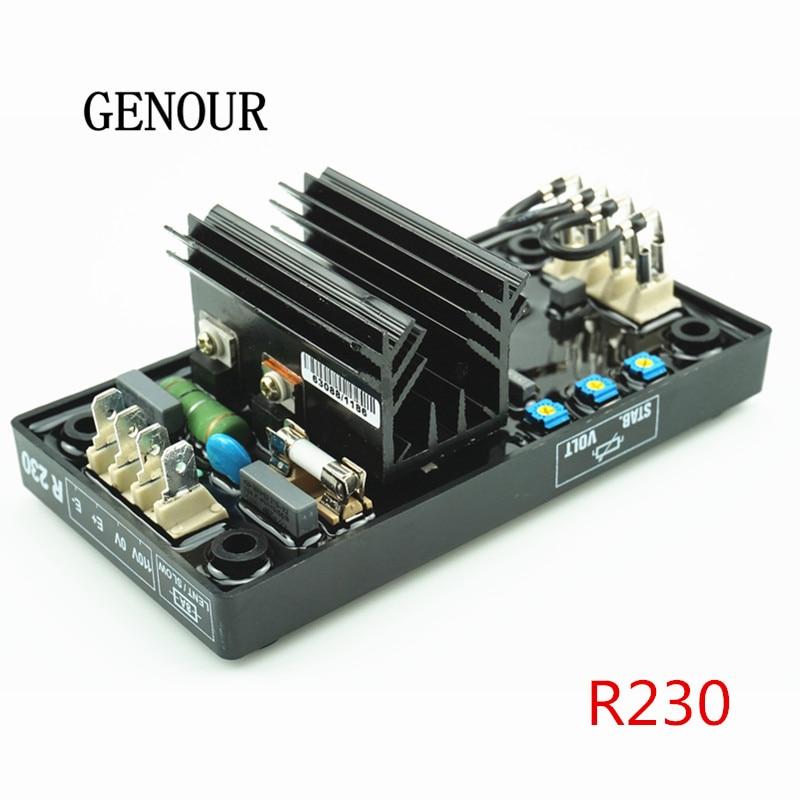 R230 R230 gerador regulador automático de tensão