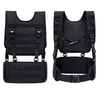 Military Tactical Vest Belt Suit Molle Paintball CS Combat Protective Plate Carrier for Outdoor Hunting Shooting Airsoft Vest