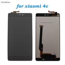 Получить скидку Для Xiaomi Mi4C M4C 4C ЖК-дисплей Дисплей Сенсорный экран планшета Полное собрание телефон Запчасти для авто