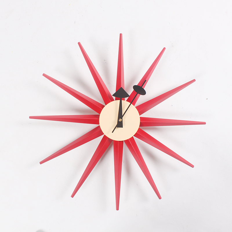 CW08 Прямая продажа с фабрики деревянный Multi цвет Sunburst настенные часы производителей professional дизайнерские часы оптовая продажа настенные