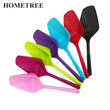 HOMETREE 1 Piece Large Scoop Colander Nylon Spoon Strainers Non-toxic Durable Drain Kitchen Accessories Tools H466