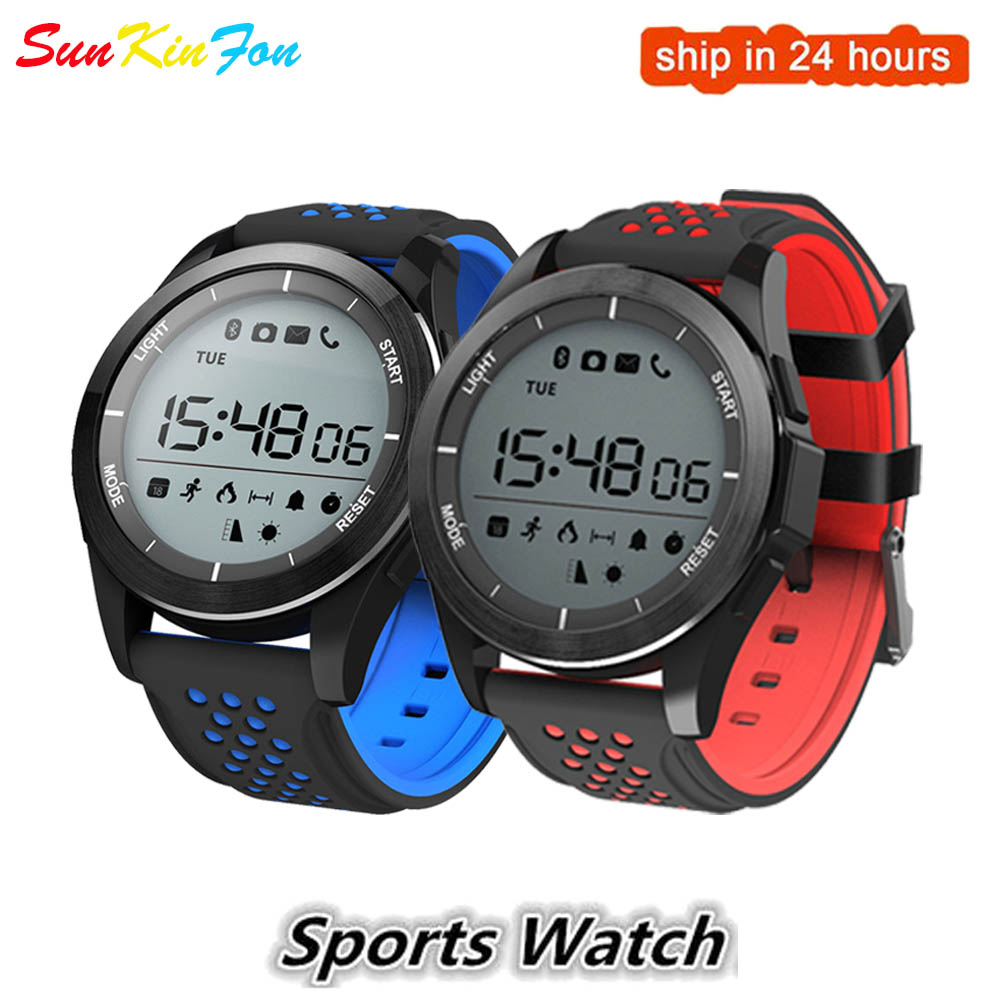 Bluetooth Sports Smart Watch F3 IP68 Waterproof Outdoor Fitness Tracker Usable Devices Reminder PK Smartwatch DZ09 A1 KW18 Y1 T8