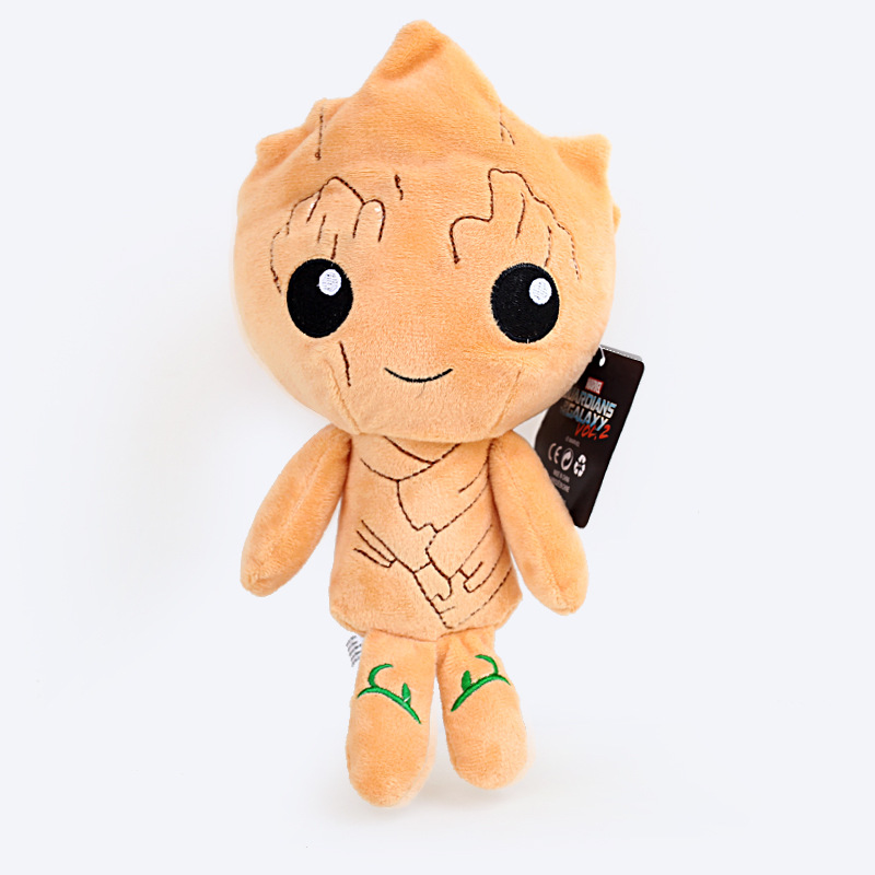 22cm Tree Man Plush Toys Doll Movie Guardians Of The Galaxy 2 Ents Tree Man Plush Toy Soft Stuffed Toys for Kids Children