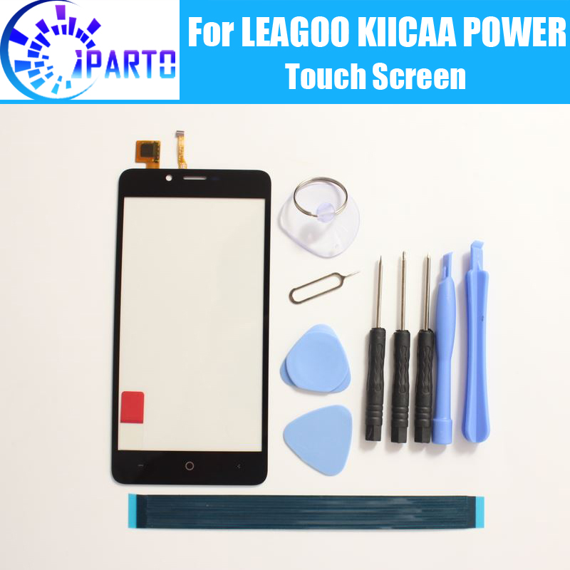 LEAGOO KIICAA POWER Touch Screen Glass 100% Guarantee Original Digitizer Glass Panel Touch Replacement For LEAGOO KIICAA POWER