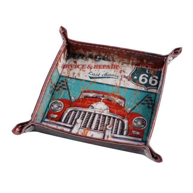 Vintage Car Garage Style Folding Tray