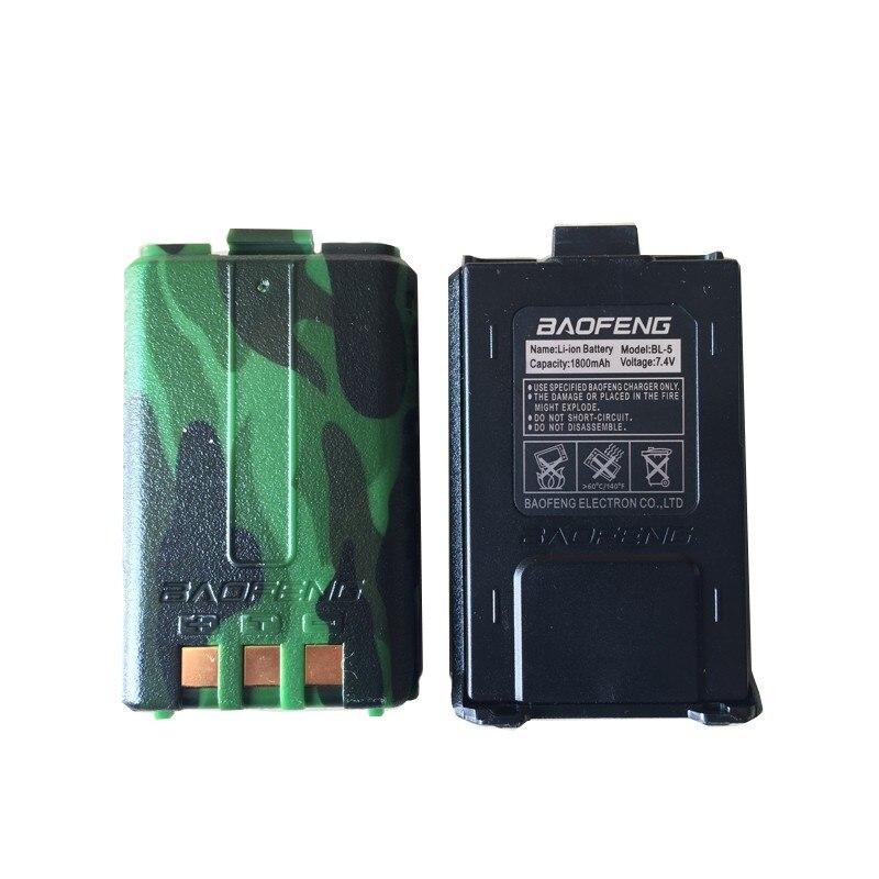 Batterie pour baofeng UV 5R talkie walkie 1800 mAh Li-ion batterie noir Camouflage couleur batterie pour BF uv 5R