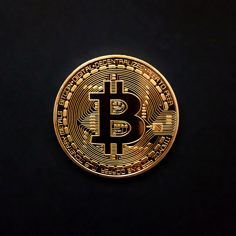 Collectible Bitcoin Coin