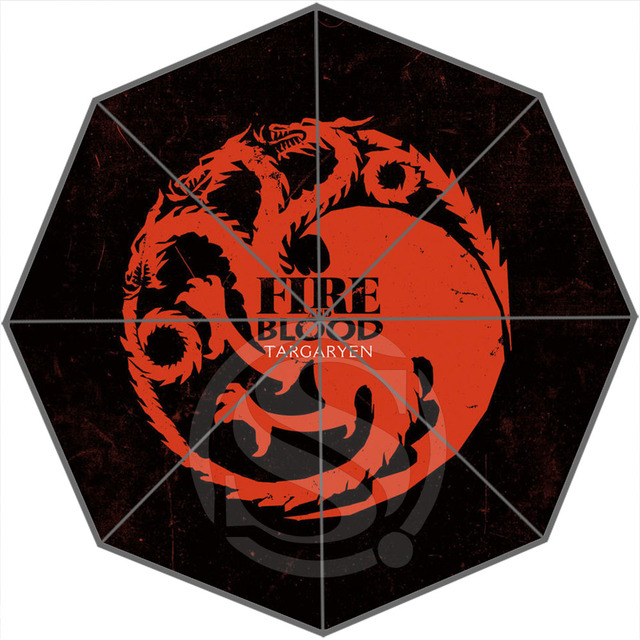 Fire and Blood Umbrella
