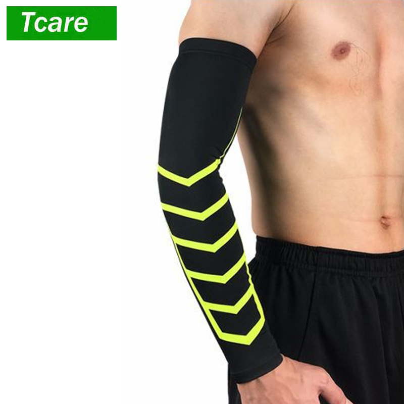 1Pcs ARM SLEEVE For Optimal Circulation Support Pain Relief Tennis Elbow Treatment Tendonitis And Overall Arm Elbow Forearm