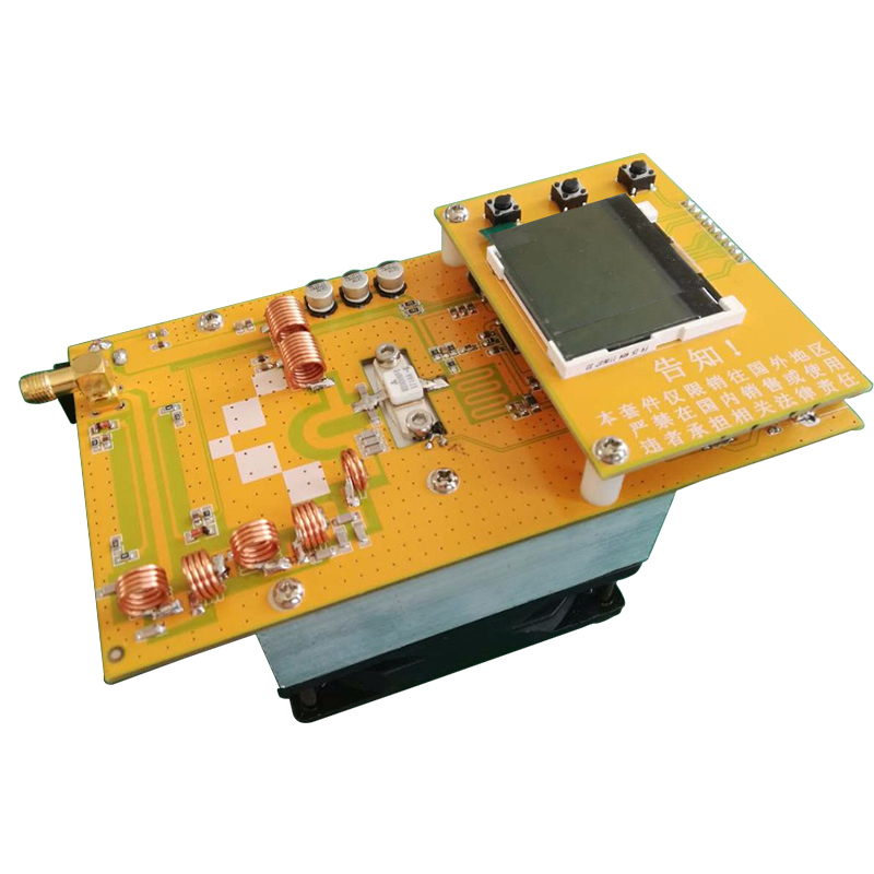 30 W stéréo PLL FM émetteur 76 M-108 MHz 12 V numérique LED Module de Station de Radio Portable avec ventilateur de radiateur