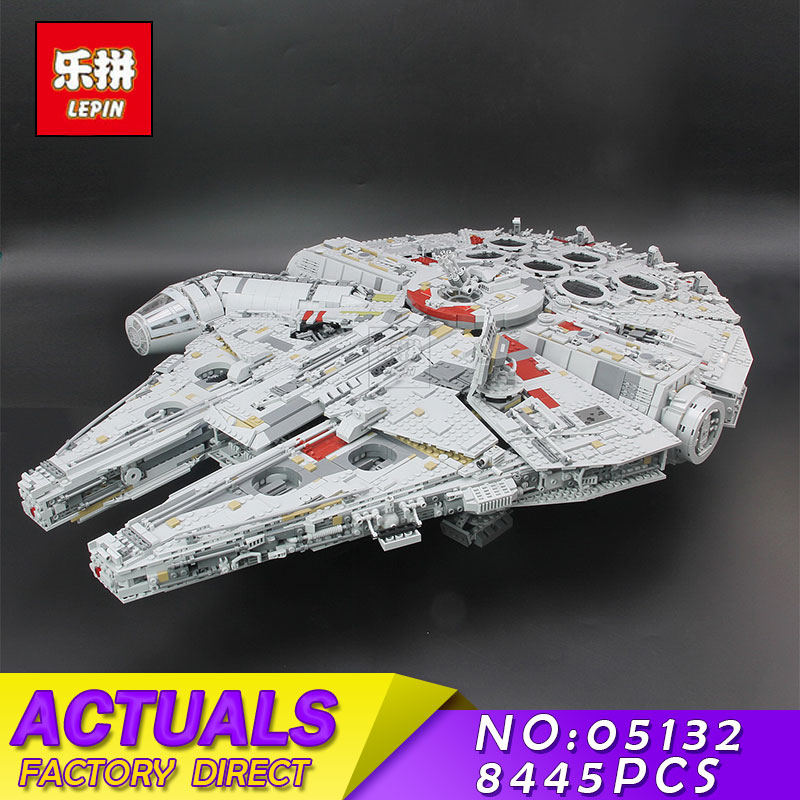 Lepin 05132 7541PCS Star Set War The Ultimate Collector's Model Destroyer Kits 75192 Building Blocks Bricks Children Toys Gifts 2018 dhl lepin star series war 05007 05033 05132 building blocks bricks model toys compatible 75105 10179 75192 gifts