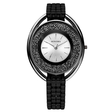 New Fashion Rhinestone Watches Women Luxury Brand Stainless Steel Bracelet watches Ladies Quartz Dress Watches reloj mujer Clock цена в Москве и Питере