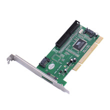 PCI Для IDE + SATA Карта SATA3 Порт Расширения Карты VIA6421 SATA3 Extender адаптер ПК Поддержка windows 98SE/ME/2000/XP/Vista