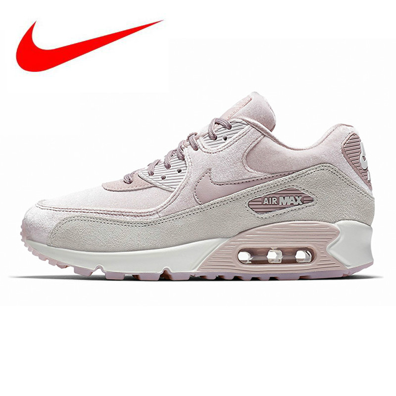 hot sale online b7493 a28f2 Detail Feedback Questions about NIKE AIR MAX 90 LX Women s Running Shoes, Shock  Absorbing Abrasion Resistant Non slip Breathable Lightweight, Pink 898512  ...