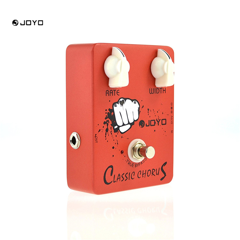 JOYO JF-05 Electric Guitar Effect Pedal Classic Chorus True Bypass Design mooer ensemble queen bass chorus effect pedal mini guitar effects true bypass with free connector and footswitch topper