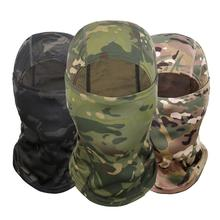 Buy 4 Colors Camouflage Balaclava Full Face Mask Wargame Cycling Hunting Army Bike Military Helmet Liner Tactical Airsoft Cap Hot directly from merchant!