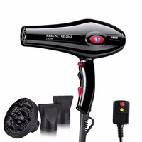 REBUNE 2300W Professional Hair Dryer Anion LCD Screen Constant Temperature Air Conditioning AC Motor Household Sharon Hair Dryer