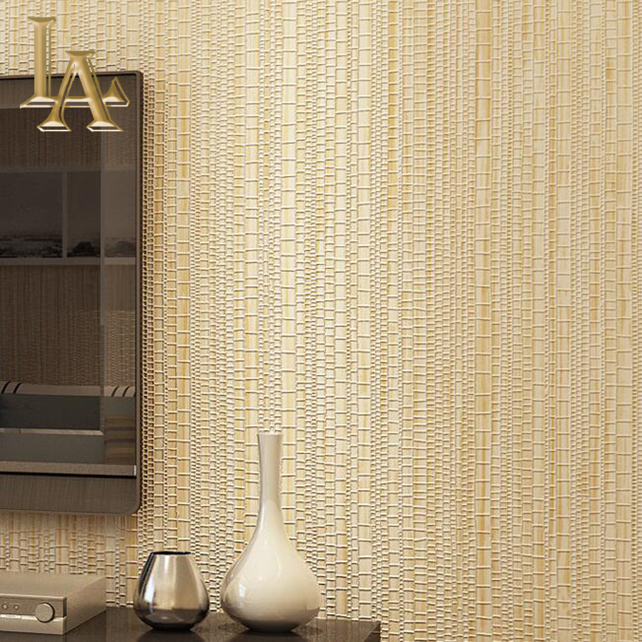 Modern Simple Thin Flocking Vertical Stripes Wallpaper For Living ...