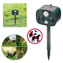 Solar Power Ultrasonic Mole Snake Bird IPX55 Waterproof Mosquito Mouse Ultrasonic Pest Repeller Control Garden Yard